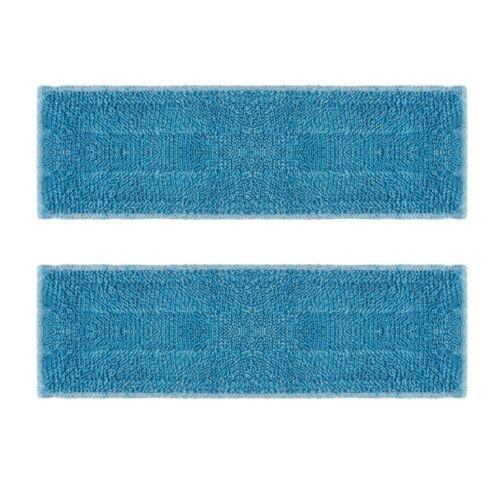 Polti kit 2x cloths microfibre washable reusable for broom Moppy