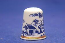 Royal Worcester Canon Ball China Thimble B/80