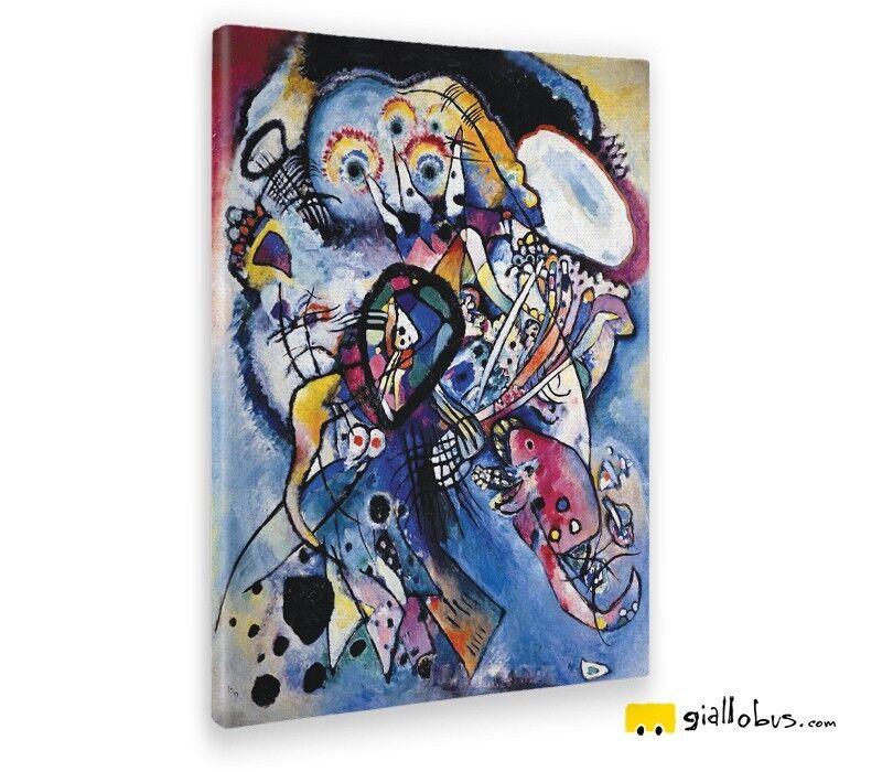 Quadro - Wassily Kandinsky – Due ovali - Stampa fine art – Pronto da appendere