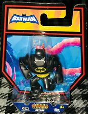 The Brave and the Bold Action League Batman with Silver Gas Mask Mini Figure