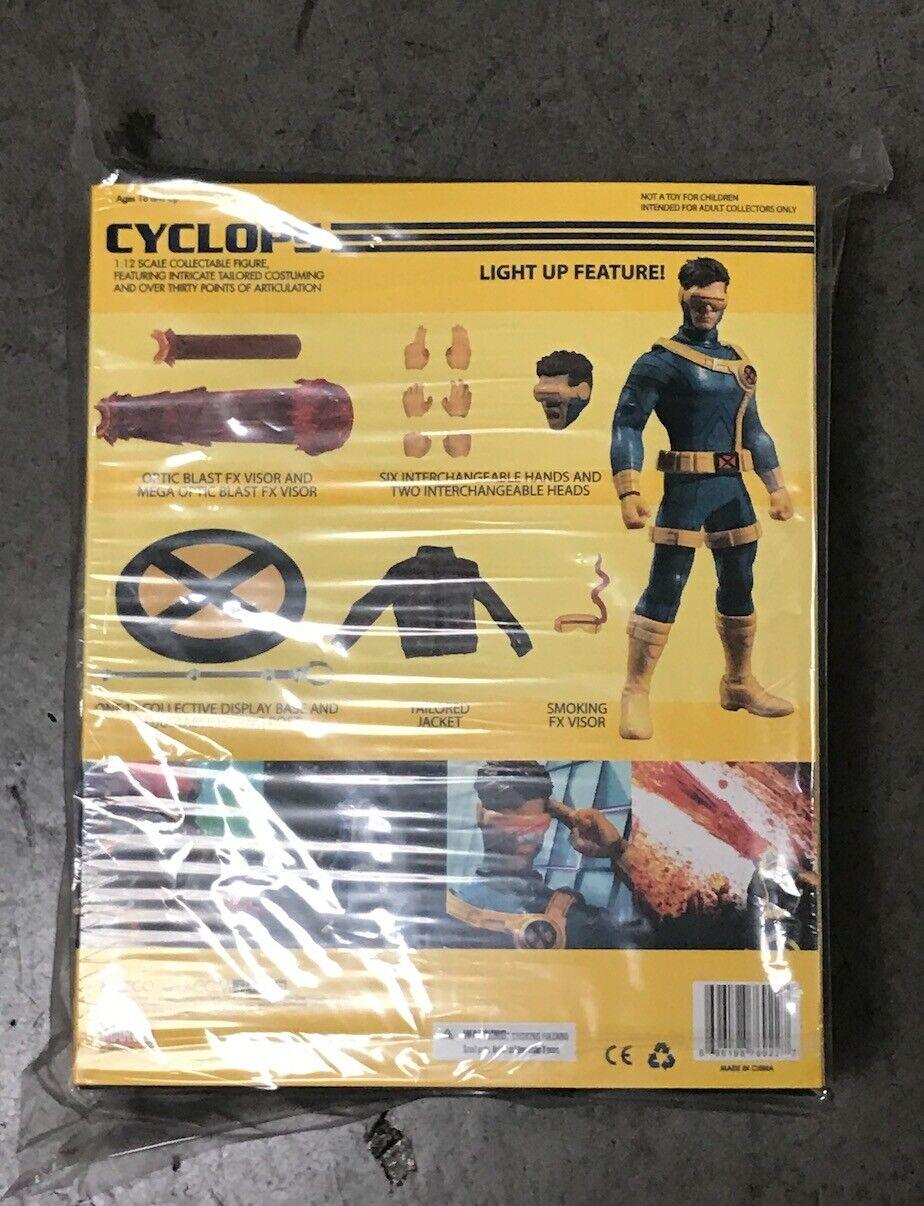 WC76922  Mezco Juguetez One 12 Marvel Cíclope figura de acción colectiva, En Stock