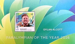 Australian Decimal Stamps: 2016 Dylan Alcott Mini Sheet - Exceptionally Rare
