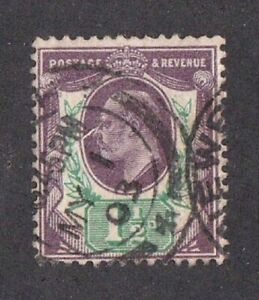 Great Britain stamp #129, used, KE VII, 1902 - 1911, SCV $22.50