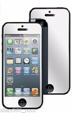 2X Mirror Screen Protector Skin Film Cover Guard Shield for Apple iphone 5S 5C 5