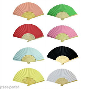 New-Chinese-Hand-Held-Fan-Bamboo-Paper-Fan-Silk-Folding-Fan-Wedding-Bamboo-Party