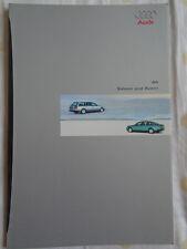 Audi A6 Saloon & Avant brochure Jan 1999