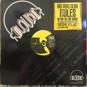 WU-TANG-CLAN-RULES-IN-THE-HOOD-12-034-2001-RARE-RZA-GZA-METHOD-MAN