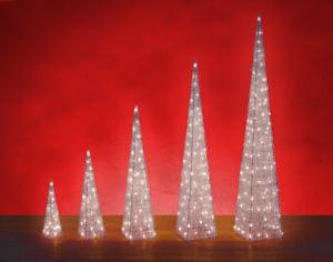 flèche rouge déco Pyramide Décoration de Noël Jardin Stand AVENT ...