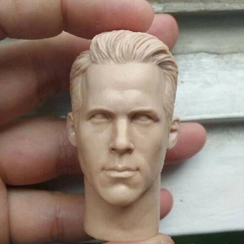 "In BIANCO CALDO 1//6 SCALA DEADPOOL Ryan Reynolds TESTA SCOLPIRE CORPO NON VERNICIATA Fit 12/"""