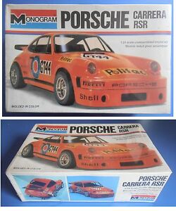PORSCHE-CARRERA-RSR-Monogram-1-24-model-kit