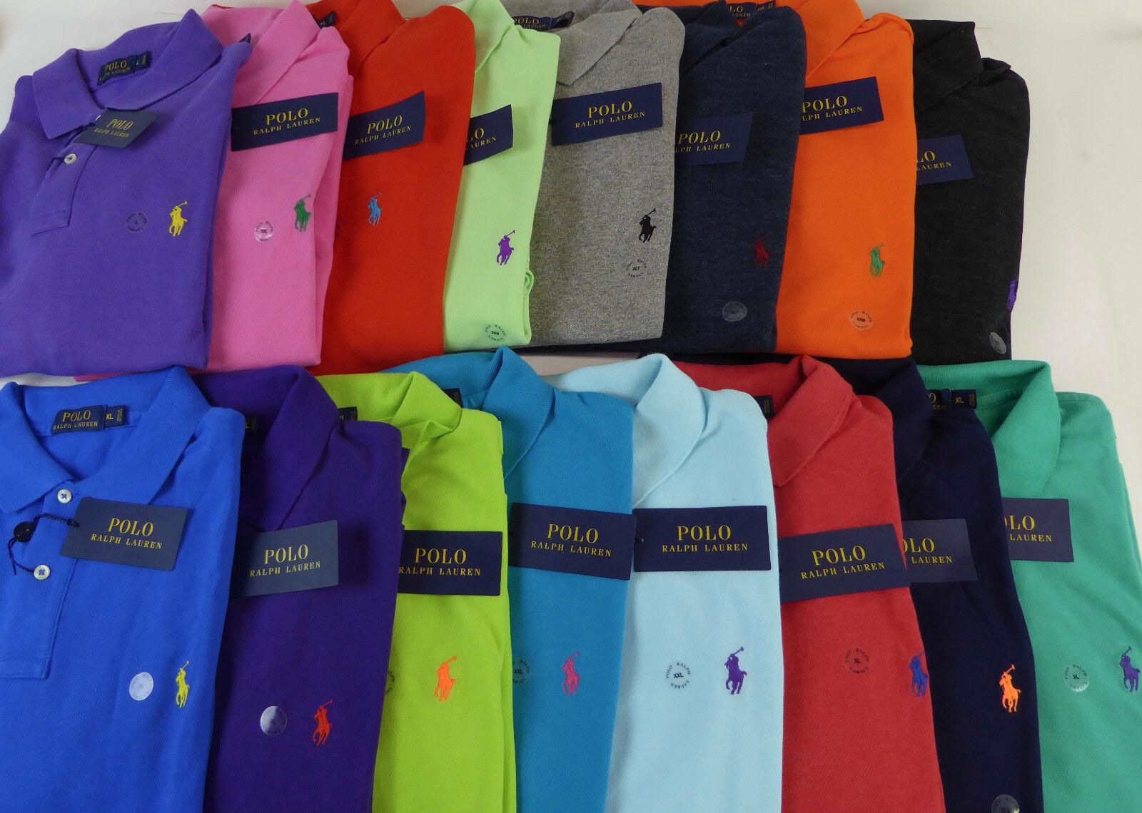 bdcab1d8d42a00 Polo Ralph Lauren SS Mesh Cotton Polo Shirt Pony 20 colors - Classic ...