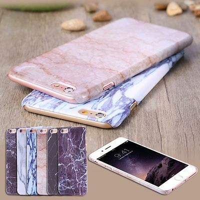 Ultra Thin Printed Marble Pattern Case Hard PC Cover for iPhone 7 8 6 5 /Plus