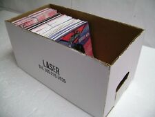 """7"""" or 45 Record Album Storage Box & Removable Lid Up to 100 Vinyl Records"""