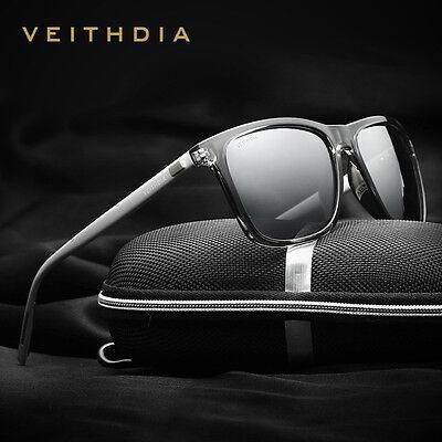 Veithdia Luxury Mens Polarized UV400 Sunglasses Sports Driving Glasses Eyewear