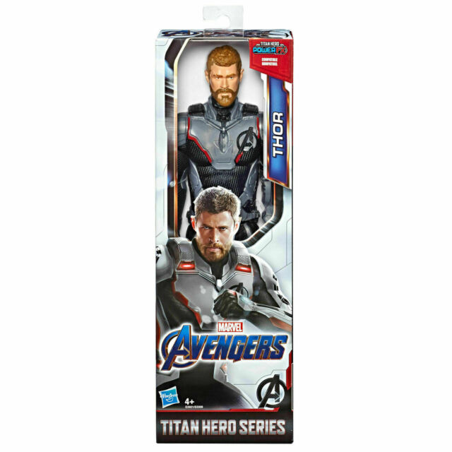 "Marvel Avengers 12"" Thor Action Figure Titan Hero Series Endgame FX Compatible"