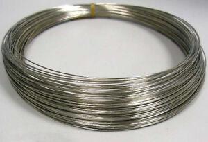 LOT de 15 TOURS fil MEMOIRE de forme COLLIER argenté 115x0,6mm perles bijoux