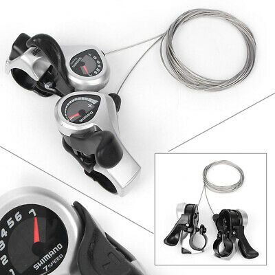 Shimano Tourney SL-TX50 3x7-Speed Thumb Shifter Set
