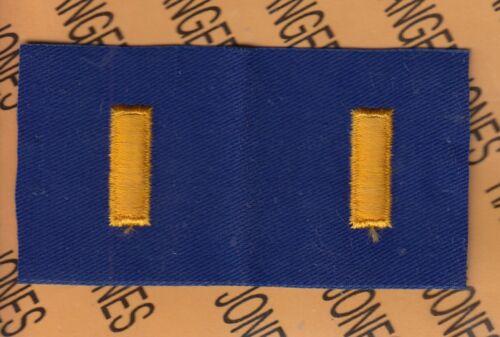 USAF Air Force 2LT Second Lieutenant 0-1 1960-70/'s rank patch set lot