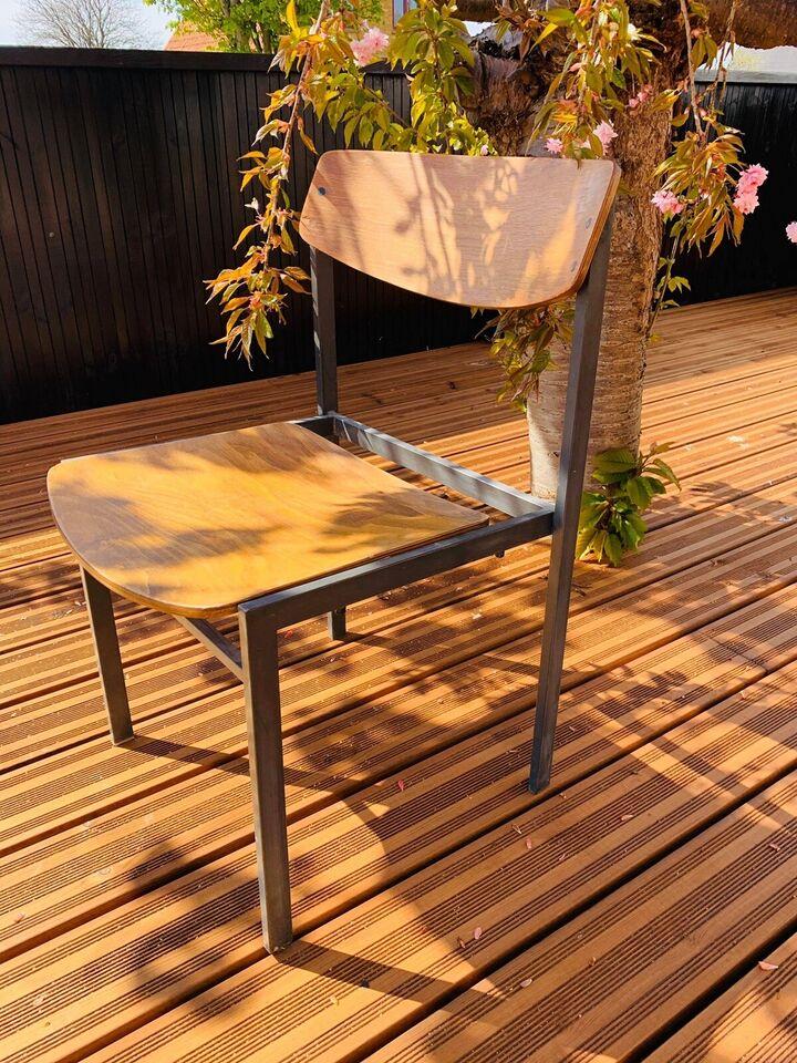 Spisebordsstol, Træ og metal, 10 tyske Bauhaus