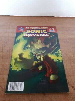 SONIC UNIVERSE Comic Book #4 July 2009 THE SHADOW SAGA 4 of 4 First Edition MINT
