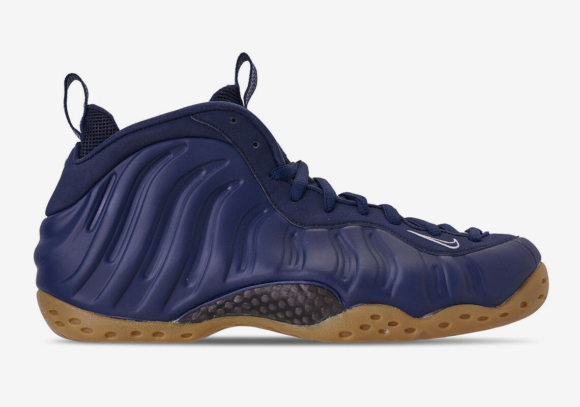 Men's Nike Air Foamposite One  Midnight Navy Athletic Fashion Sneaker 314996 405