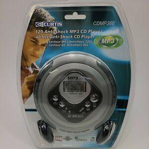 Curtis CDMP366 Personal CD Player Portable w/Headphones Brand New