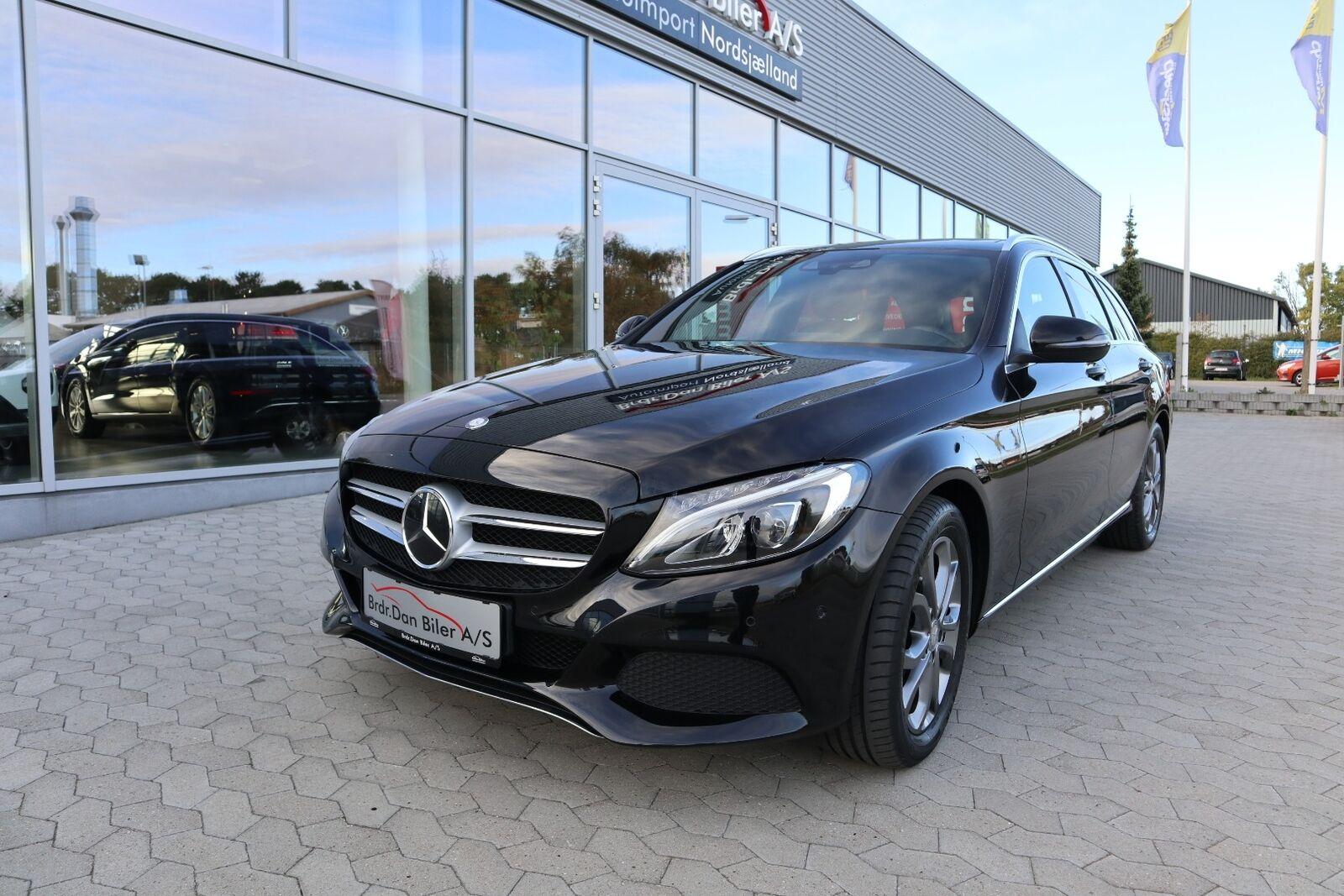 Mercedes C220 d 2,2 Avantgarde stc. aut. 5d - 299.800 kr.