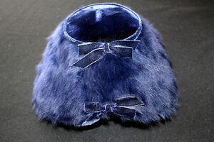 VINTAGE-1960-039-S-GERTRUDE-MENCZER-ST-LOUIS-BLUE-VELVET-BLUE-FEATHERED-HAT-SZ-7