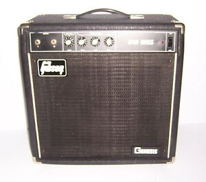 vintage gibson b 40 genesis bass guitar amplifier ebay. Black Bedroom Furniture Sets. Home Design Ideas