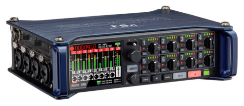 Mixer Authorized Dealer New Zoom F8N 8-in//4-out Multitrack Field Recorder