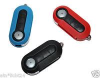 Auto Schlüssel Schale Fiat 500 Punto Evo Bravo Panda Chrom Blau Pink Weiß Gelb