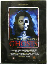 MICHAEL JACKSON'S Ghosts 1997 CANNES FILM FESTIVAL Premiere PROGRAM Stephen King