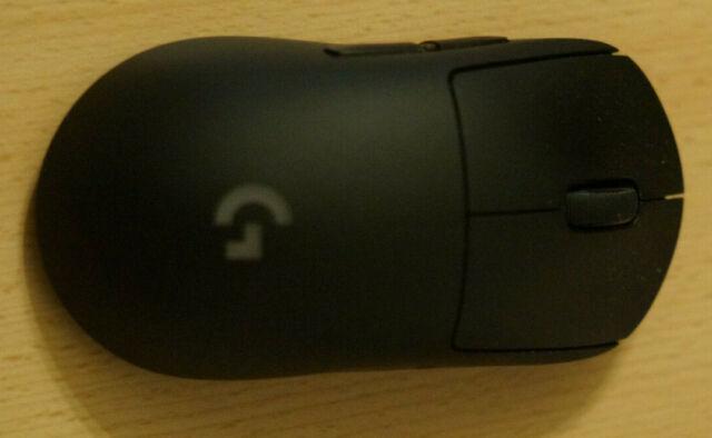 Logitech G PRO  16000 DPI Wireless Gaming Maus - Schwarz