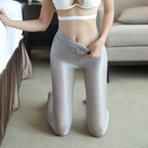 Women 70D Shiny Glossy Pantyhose Nurse Hooters uniform Dancer Cheerleader Tights