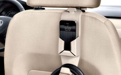 Premium Kleider Bügel Haken Handy Halter Sitze BEIGE Kopfstütze viele Fahrzeuge