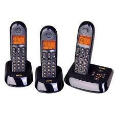 3 TELEFONI CORDLESS SWITEL DET 19073 TRIO TAM NUOVI COLORE NERO SPEDIZ. GRATIS