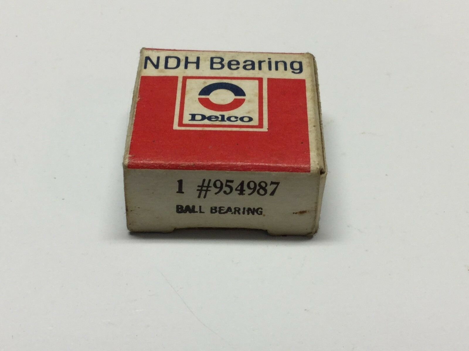 NIB NDH Delco 5504 Ball Bearing GM Auto New Departure 504 FACTORY SEALED NEW