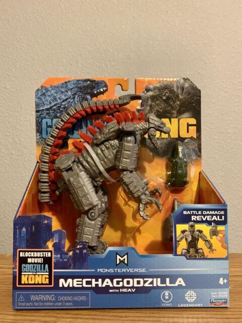 """Playmates Monsterverse Godzilla vs Kong 6"""" Mechagodzilla Figure ✅ SHIPS FAST ✅"""