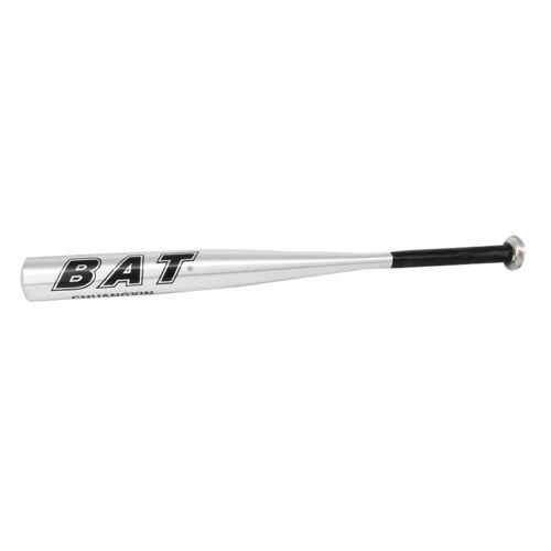 """BLACK 63.5cm 25/"""" Metal Baseball Bat Aluminium Alloy"""