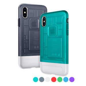 wholesale dealer 2f515 a779f Details about Apple iPhone X, 8, 8 Plus Spigen® [Classic C1] Dual-Layered  Classic Case Cover