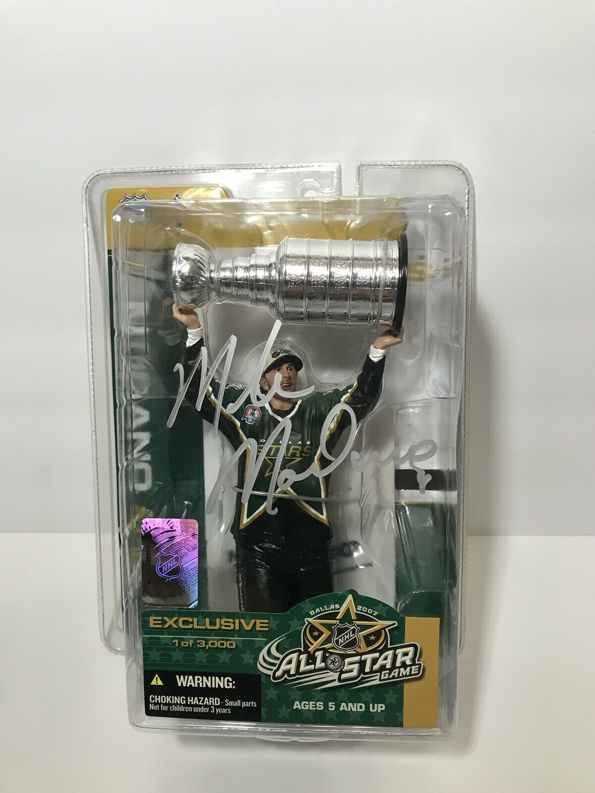 Mike Modano Mcfarlane 2007 AllStar Game Game Game Exclusive Auto, 1999 Dallas Stars d72d6d