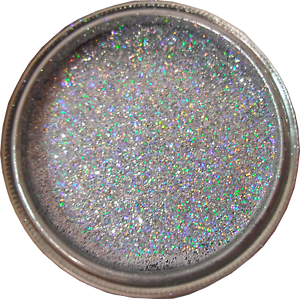Silver Rainbow Sparkle Glitter Paint Glaze For Bathroom