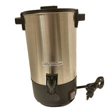 Sybo Stainless Steel Percolate Coffee Maker Urn 30 Cup Rcm035a Hot Water 45 L