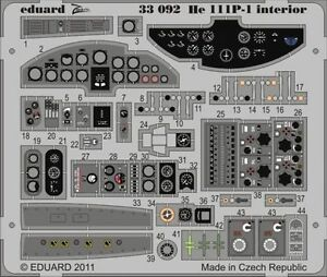 Eduard-Zoom-33092-1-32-Heinkel-He-111P-1-Revell