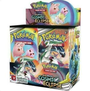 Pokemon-COSMIC-ECLIPSE-Sun-amp-Moon-Booster-Box-Factory-Sealed-36-packs