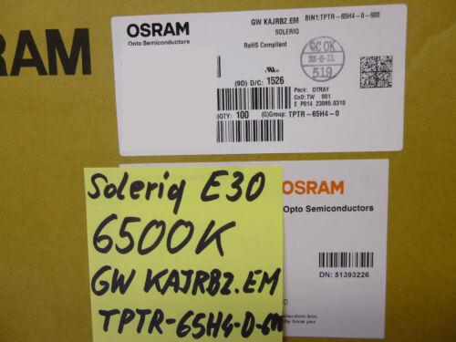 1 Stück 1 piece OSRAM SOLERIQ E30 COB LED 6500K Cool WHITE CRI 85 GW KAJRB2.EM