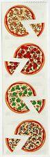 "Mrs. Grossman's Sticker Strip ""PIZZA"" Pizza Party Team Party Pepperoni Pie"