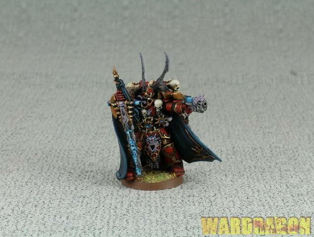Warhammer 40K WDS painted Dark  Vengeance Chaos Lord Kranon the Relentless . g46  liquidazione
