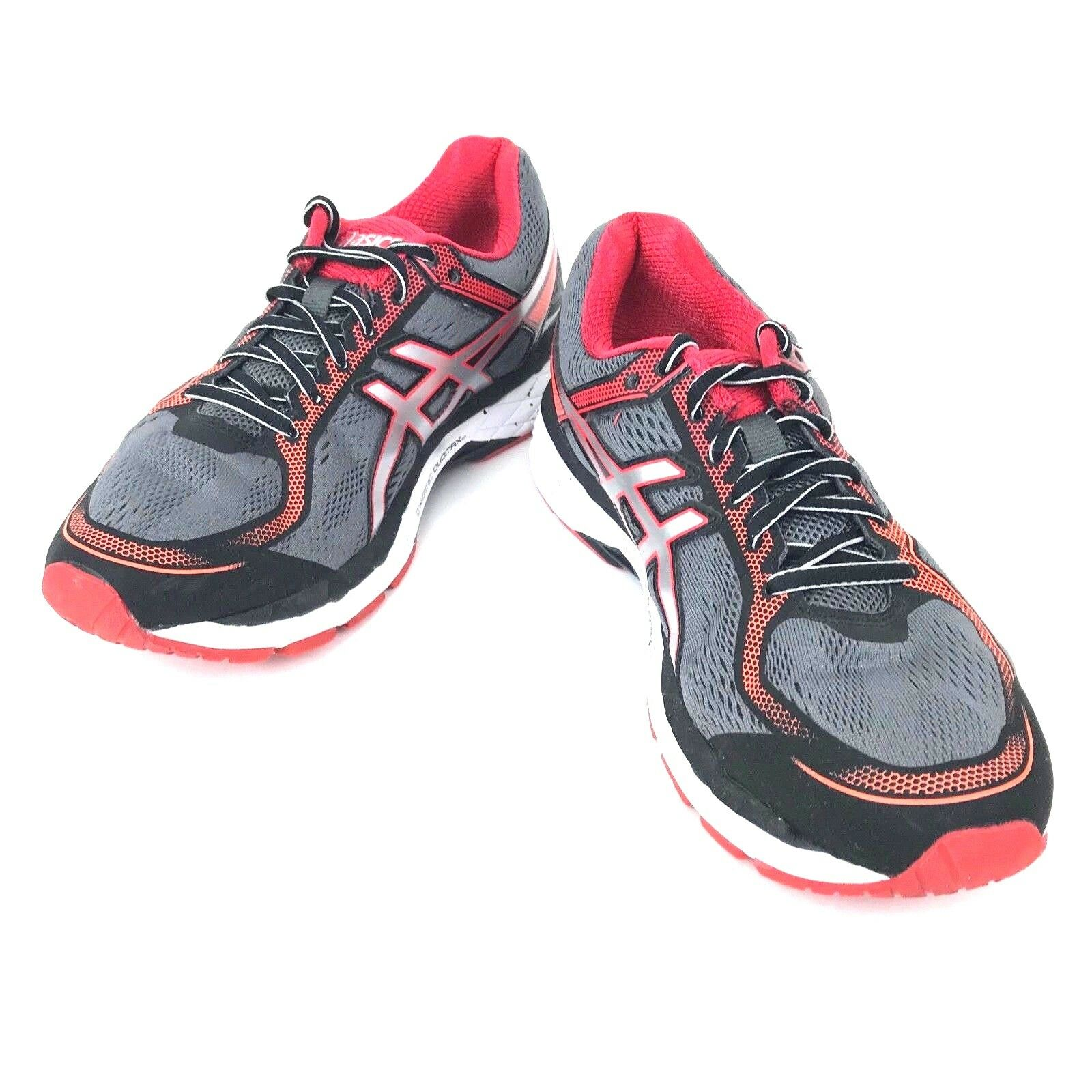 Asics GEL Surveyor 5 Running Sneakers shoes 8 Silver Red Red Red Black  T6B4N 93162e