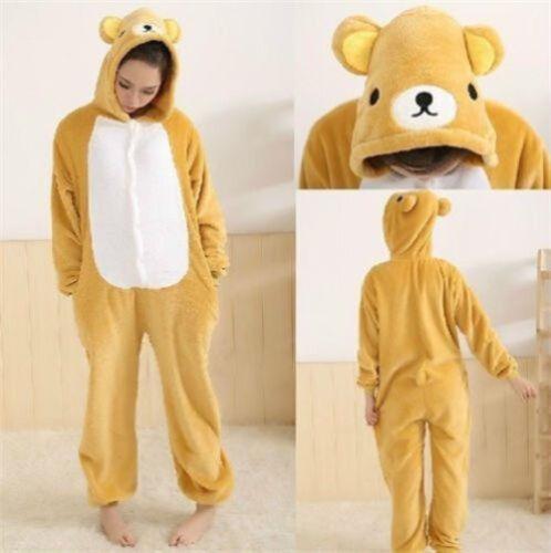 XmasUnisex Pijamas Kigurumi Animal Onepiece Cosplay Traje de Dormir Unidad Fancy